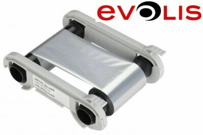 Farbband Evolis metallic silber RCT017NAA
