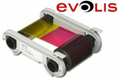 Farbband Evolis 1/2 YMCKO halb R5H004