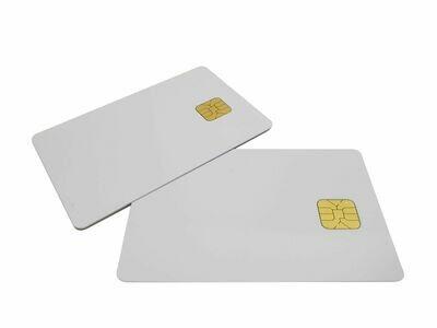 Chipkarten - Plastikkarten Rohlinge mit Chip