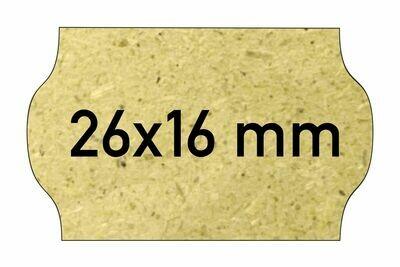 Etiketten 26x16 mm Gras - Eco