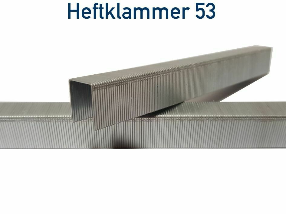 5.000 Heftklammer 53/8 cnk verzinkt Premium