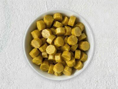 Siegelwachs in Perlen gelb - Granulat