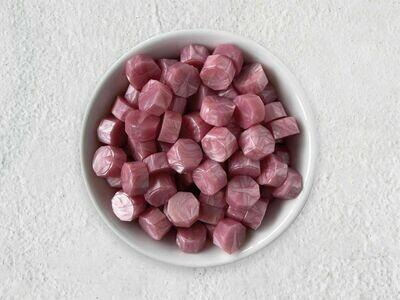 Siegelwachs in Perlen Altrosa - Granulat