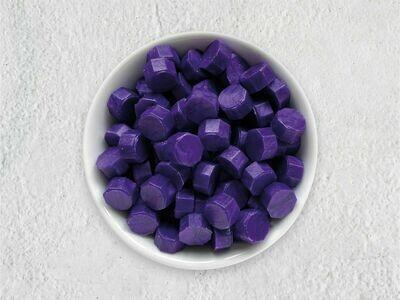 Siegelwachs in Perlen Purpur - Granulat