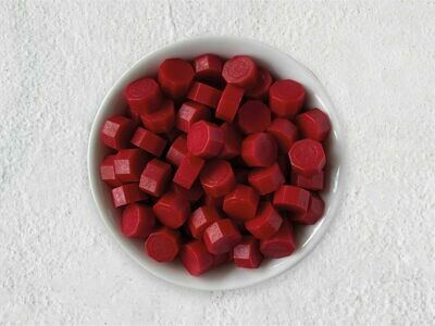 Siegelwachs in Perlen Rot - Granulat