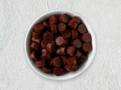 Siegelwachs in Perlen Bordeauxrot - Granulat
