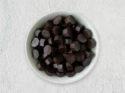 Siegelwachs in Perlen Kaffee - Granulat