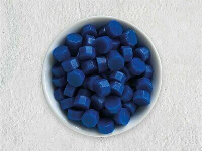 Siegelwachs in Perlen Blau - Granulat