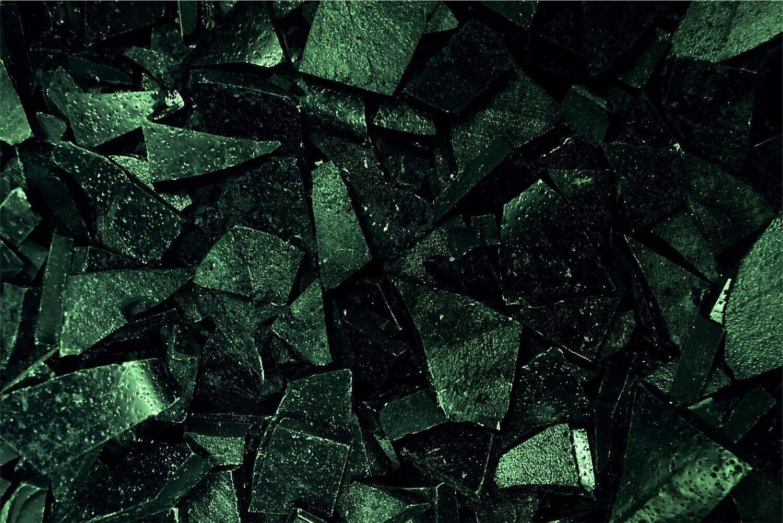 Siegelwachs hart für Flaschen - grün