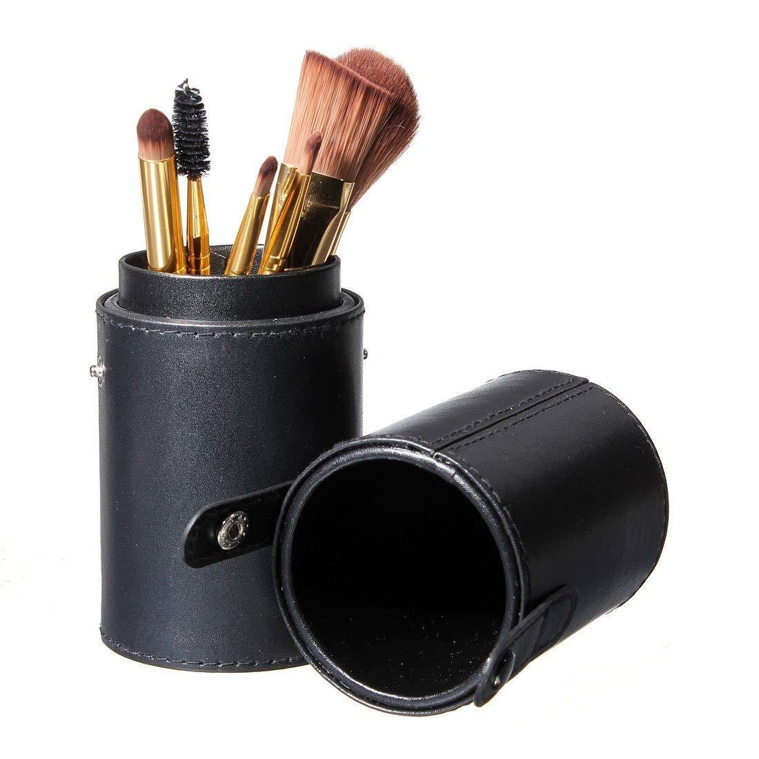 Kunstleder Makeup Pinselhalter Pinseltasche