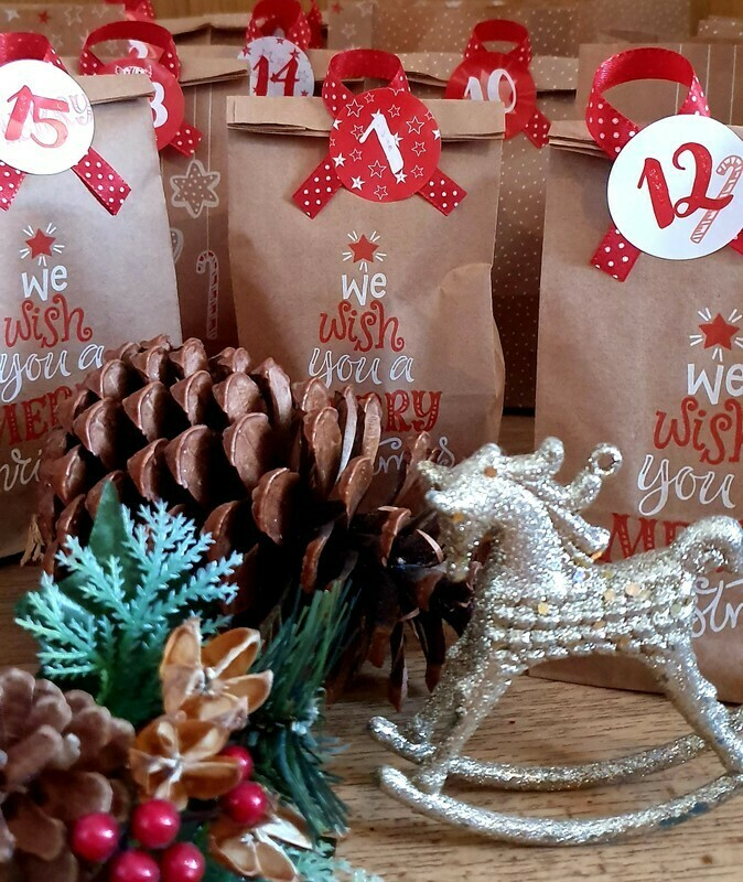 Adventskalender Made with Love NYX PROF MAKEUP MAYBELLINE ETC