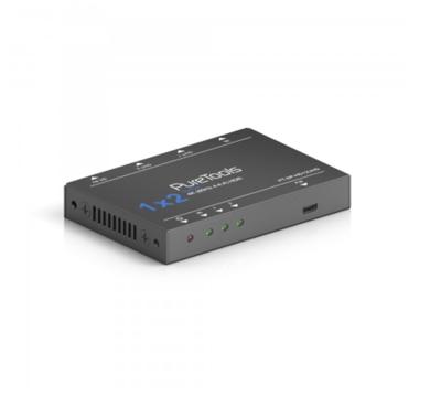 HDMI Splitter 1x2, 4K (60Hz 4:4:4)