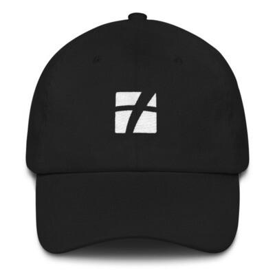 White Logo Dad Hat