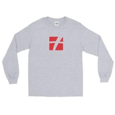 Red Logo Long Sleeve