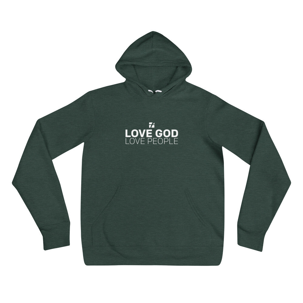 Love God Love People Hoodie