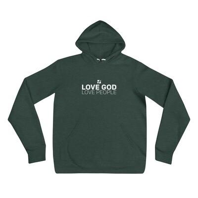 Love God Love People Hoodie