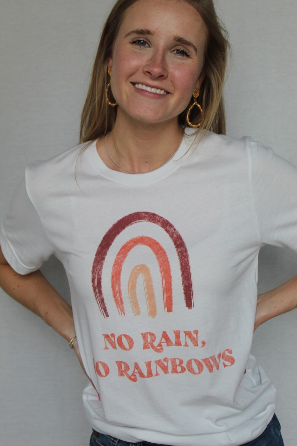 No Rain, No Rainbows Tee