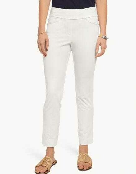 Spartina Marren Pull-On Pants in White
