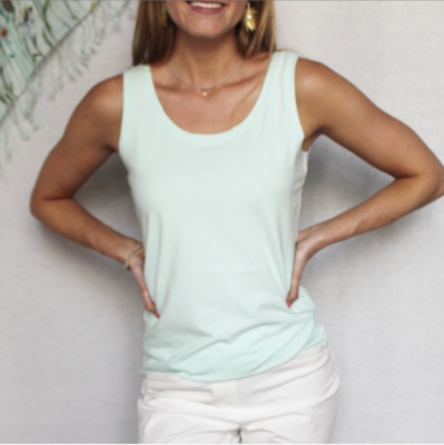 Summer Tank in Tidal Blue by Spartina
