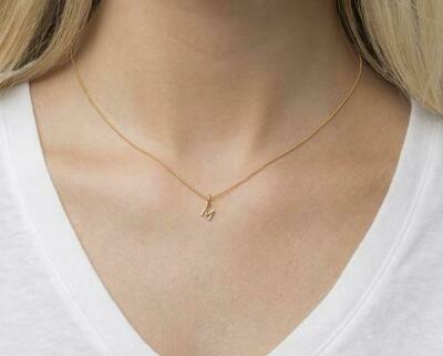 eNewton Initial Necklace- 15