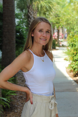 Size: Large Tomi Tank in White