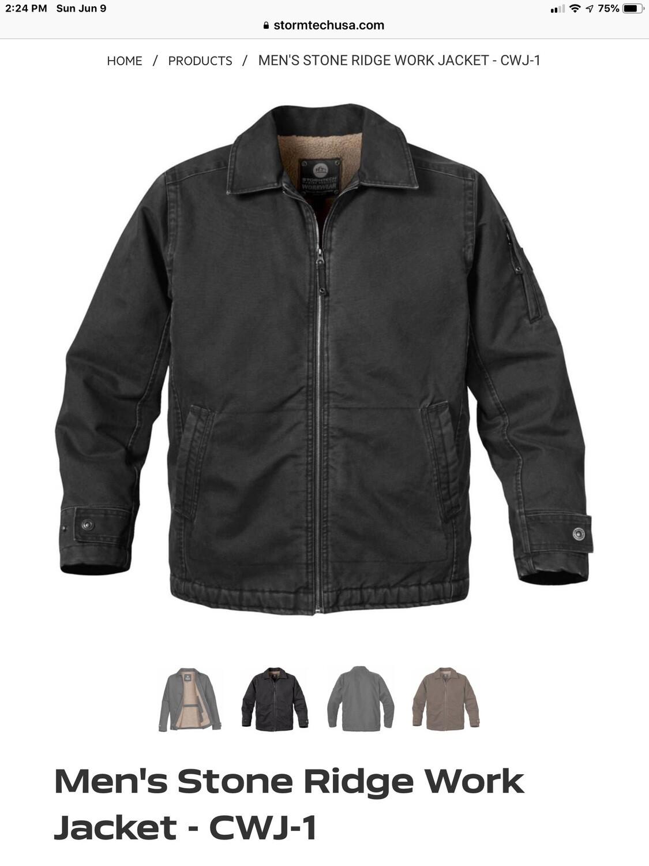 Men's Stone Ridge Work Jacket