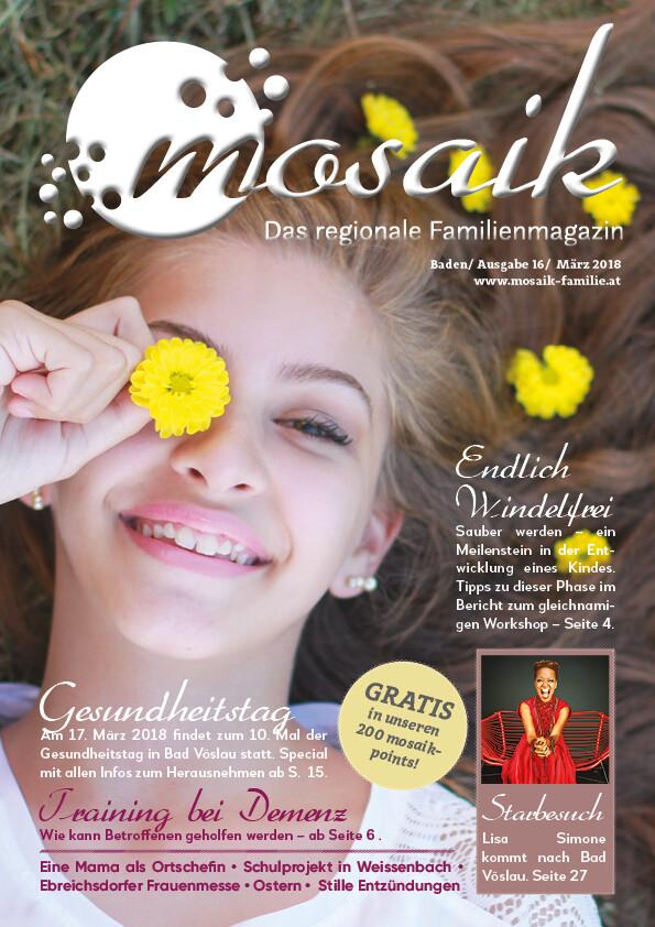 mosaik März 2018 - Print