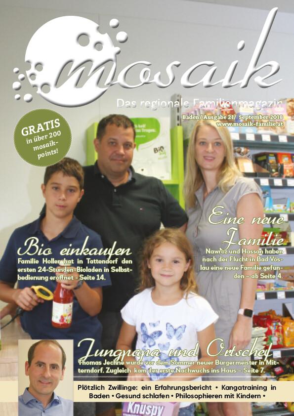 mosaik September 2018 - Print