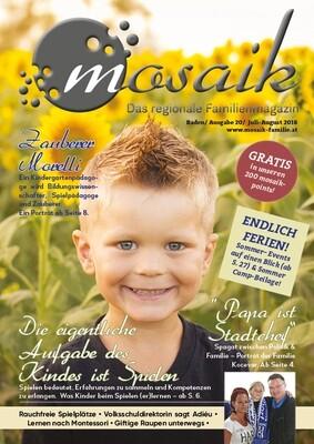 mosaik Juli-August 2018 - Print