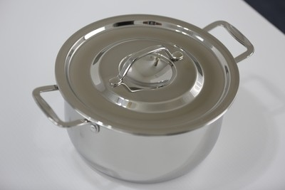 SS1 - 1.59 Qt. Stainless Steel Sauce Pot with Cover