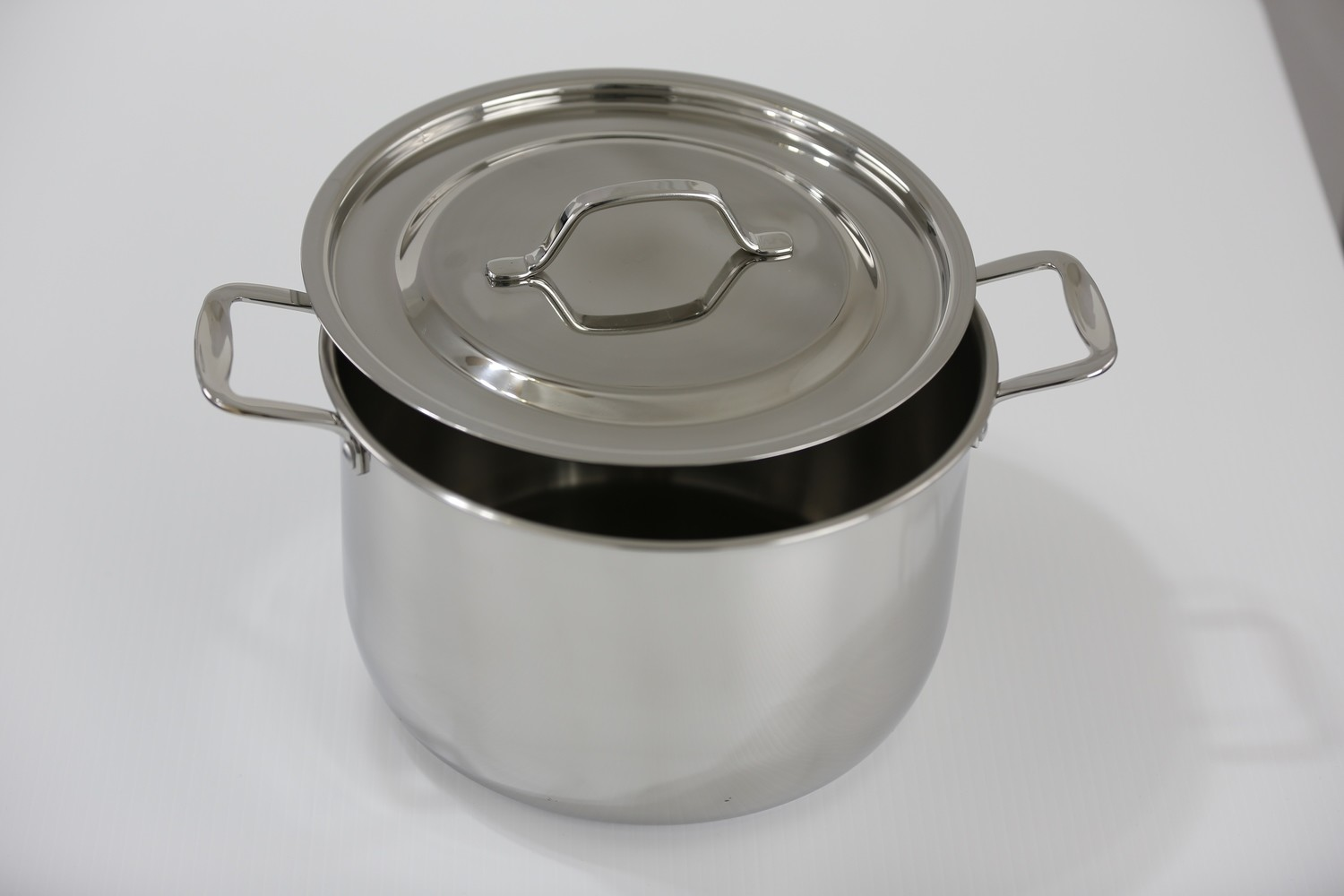 SS1-2.64 Qt. Stainless Steel tri-ply bottom induction Sauce Pot with cover