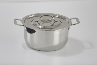 SS1 - 3.17 Qt. Stainless Steel Sauce Pot with Stainless Steel Cover