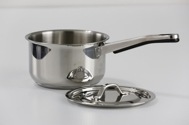 1.8 Qt. Stainless Steel Saucepan with Cover