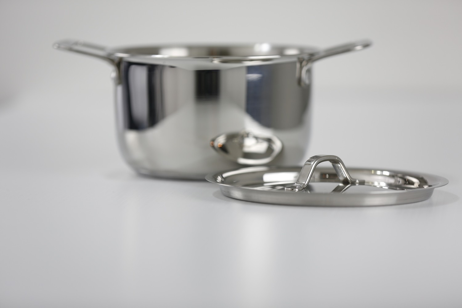 Stainless Steel Queen Sauce Pot with Cover
