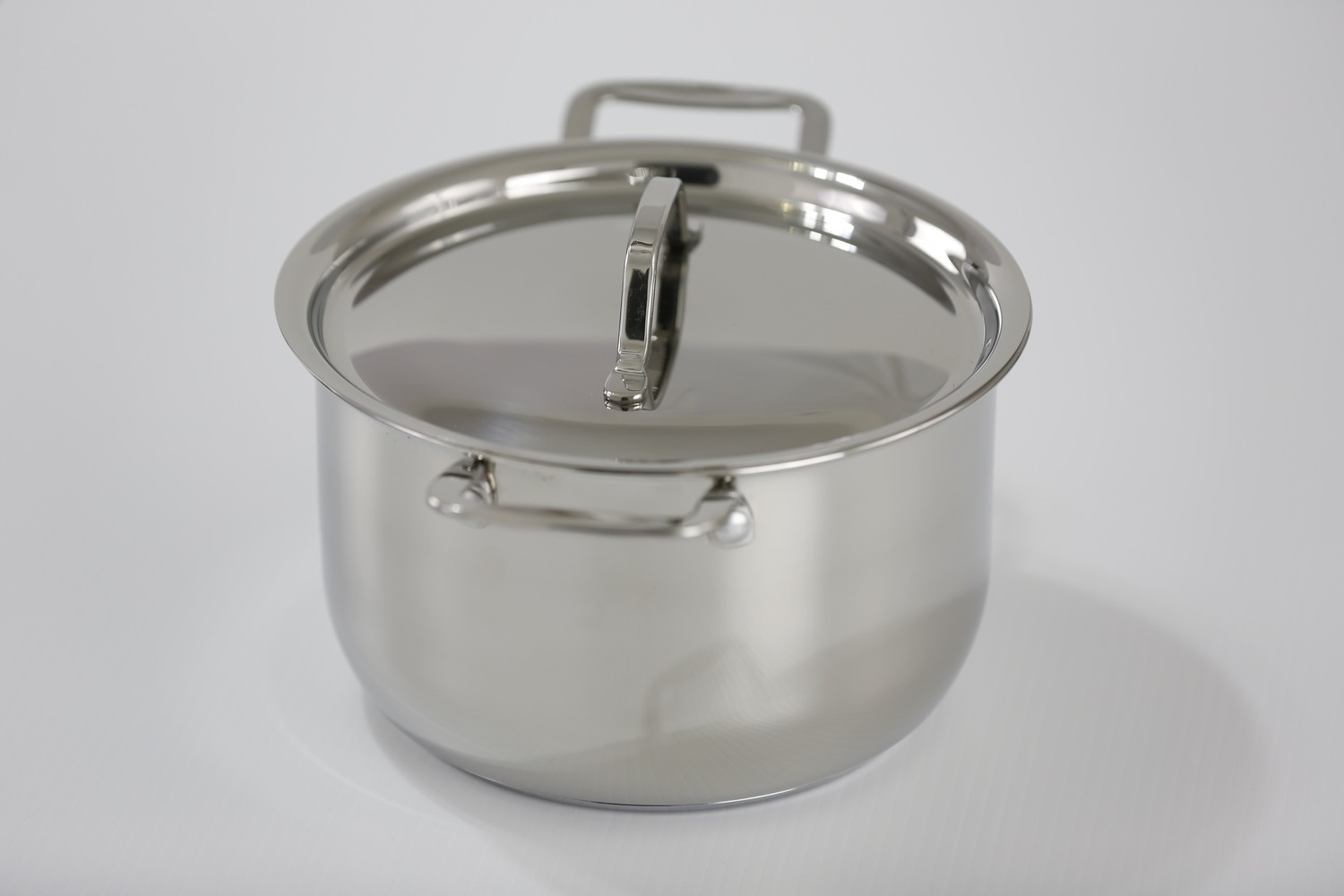 SS1-5.18 Qt. Stainless Steel Queen Sauce Pot with Cover
