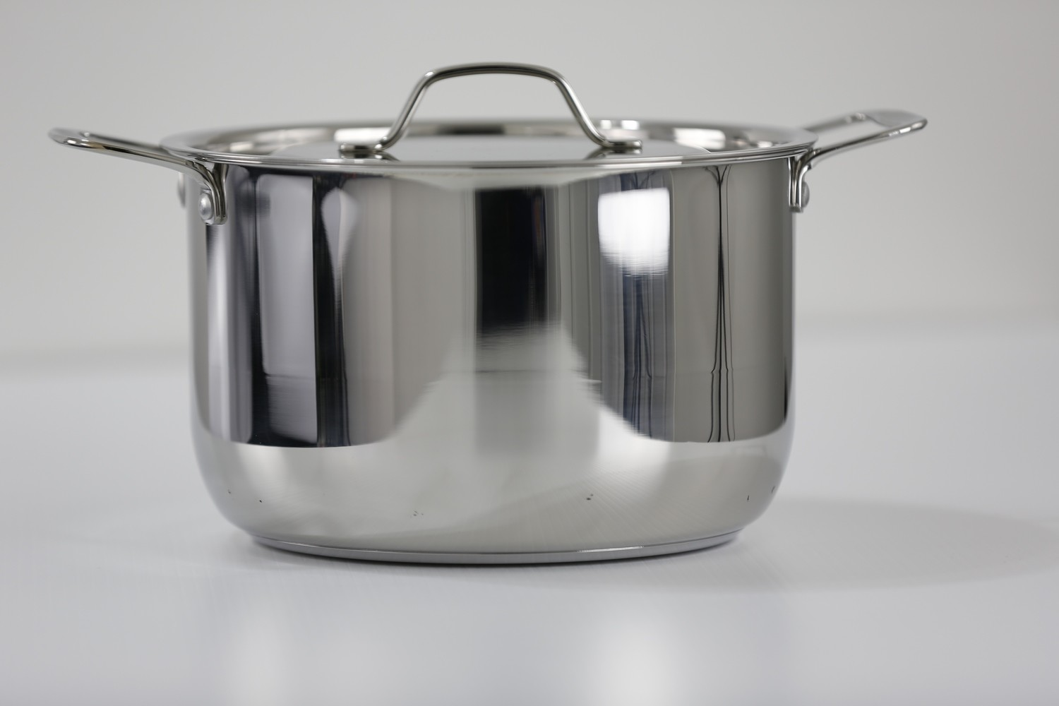 SS1- 5.18 Qt. Stainless Steel tri-ply bottom induction Sauce Pot with cover