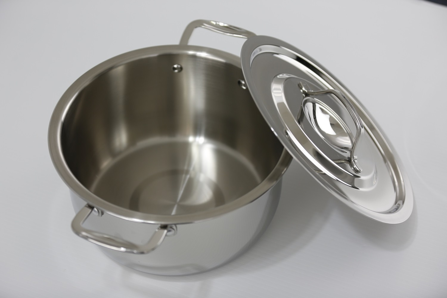 SS1 - 7.61 Qt. Stainless Steel Sauce Pot with Cover