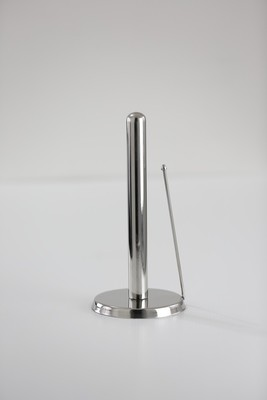 SS1 Stainless Steel round Base Paper Towel Holder