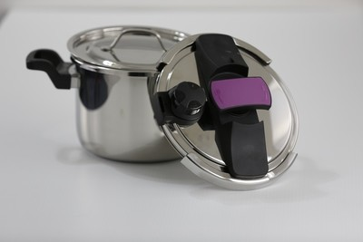 SS1- 6.34 Qt. Stainless Steel Pressure Cooker