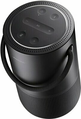 Bose - Portable Smart Speaker with built-in WiFi, Bluetooth, Google Assistant and Alexa Voice Control - Triple Black