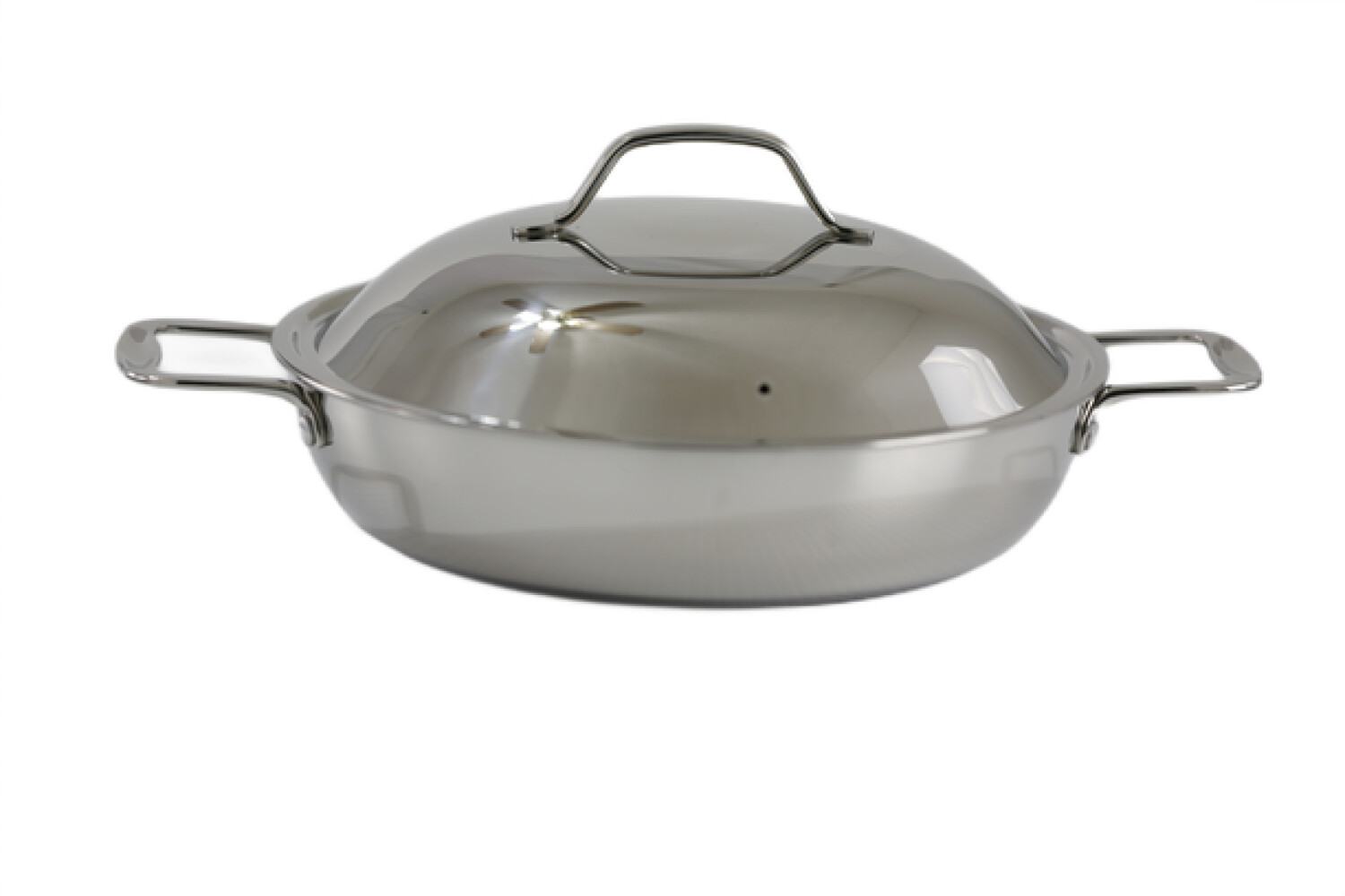 Stainless Steel Everyday Pan with Dome Cover