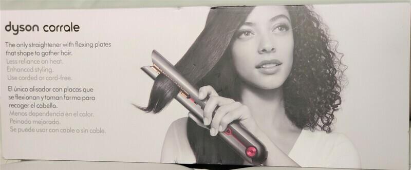 Dyson - Corrale Hair Straightener - Black Nickel/Fuchsia Model:322851-01