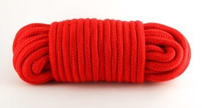 Baumwollseil 10m Rot