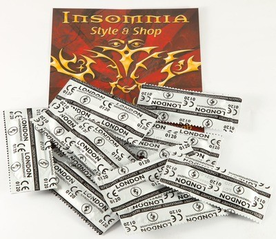 Kondome, London, 10-er Pack