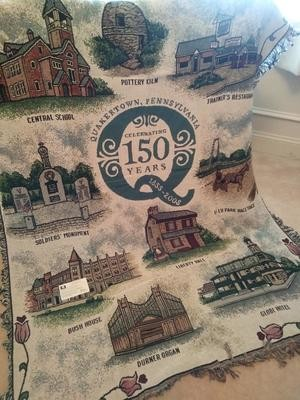150th Anniversary Coverlet Blanket