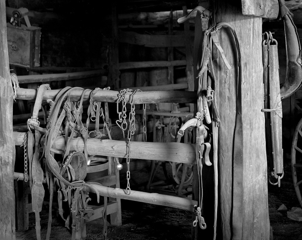Hubbell Trading Post Tack Room - Silver Gelatin Print