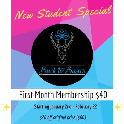New Student Membership