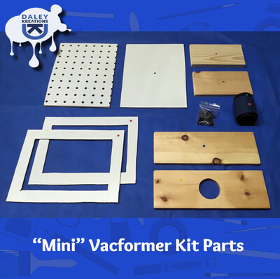DK Vacuum Former Kits - Small Size