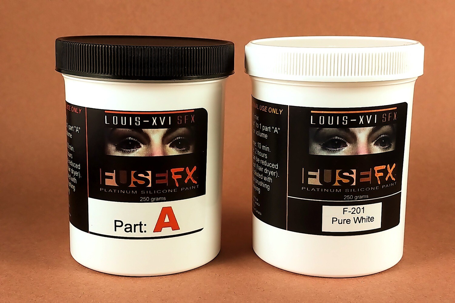 FuseFX F-Series Silicone Paints (500g Kit)