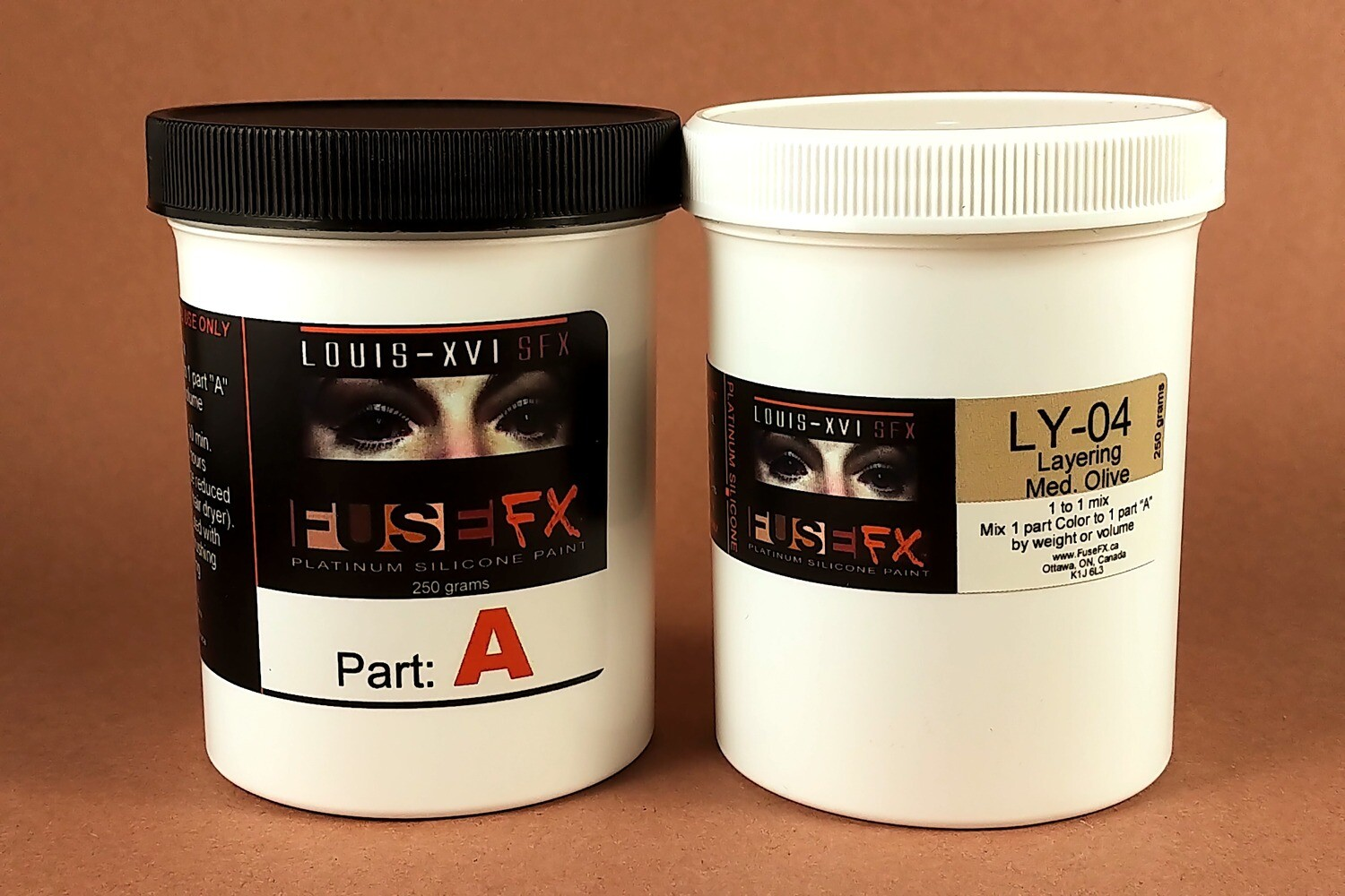 FuseFX LY-Series Silicone Paints (500g Kit)